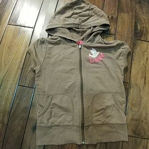 mossimo short sleeve hooded top kids